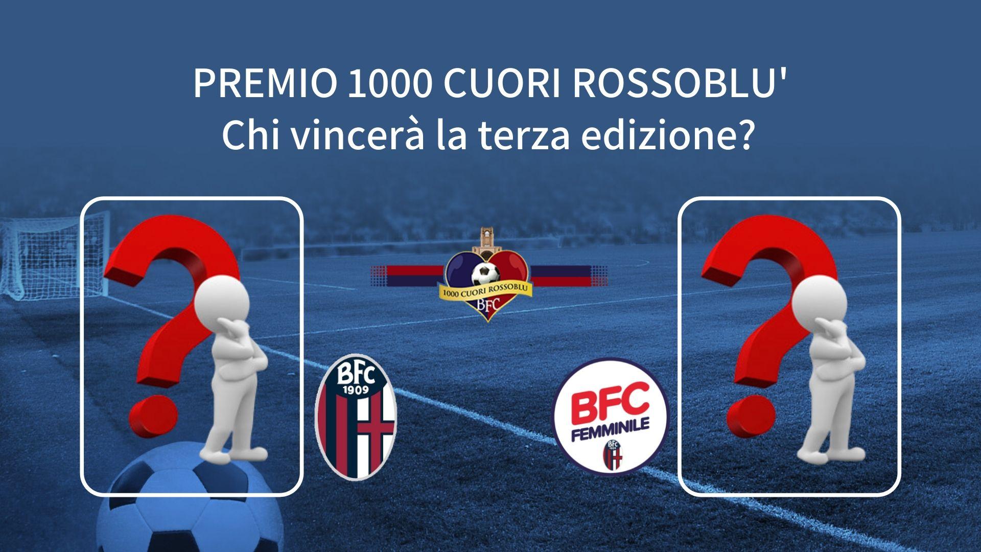 Premio 1000 Cuori Rossoblu - Vota il miglior giocatore e la miglior giocatrice della stagione 2019/2020