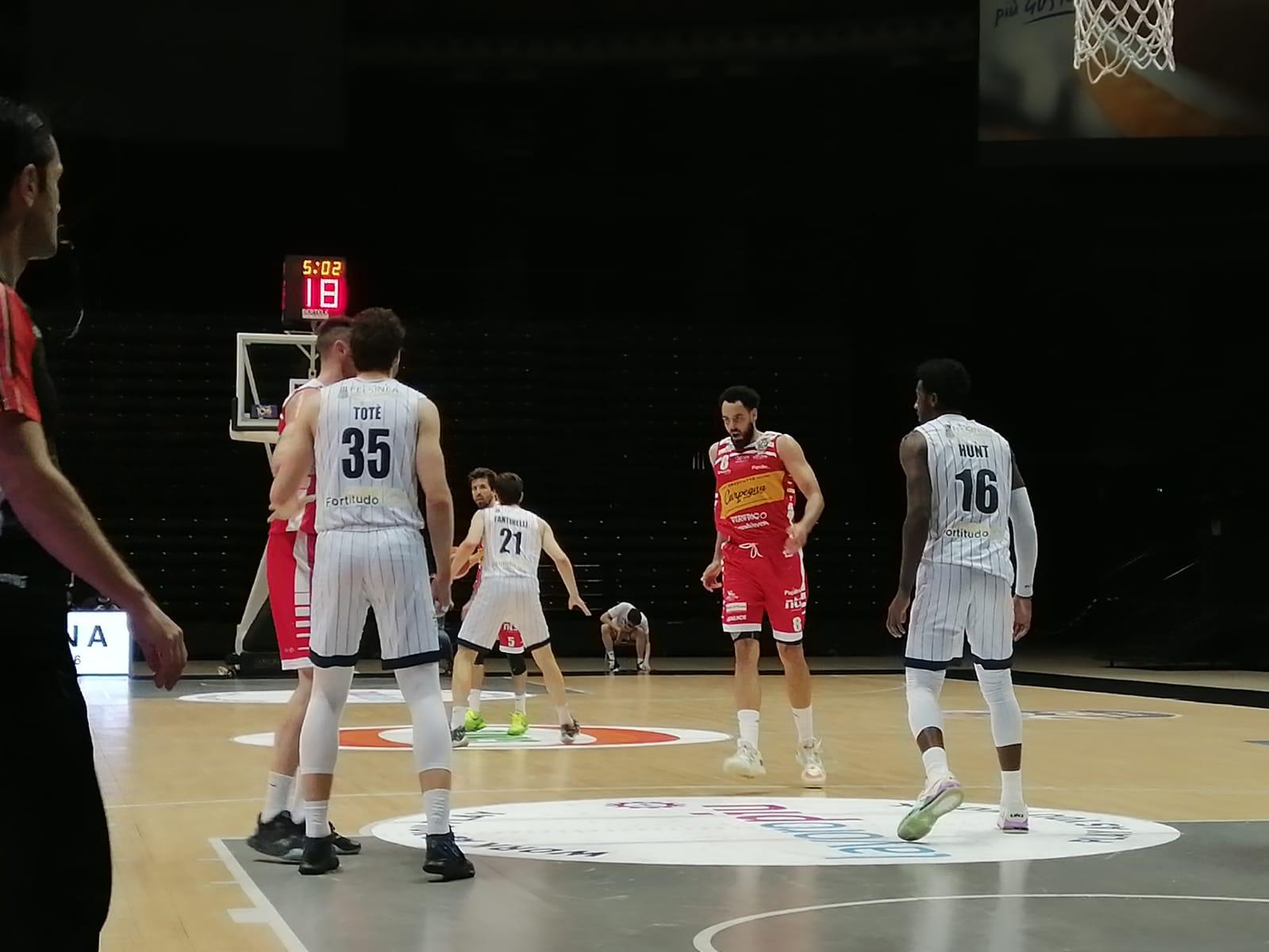 Niente bis per la Fortitudo: Pesaro vince 77-79