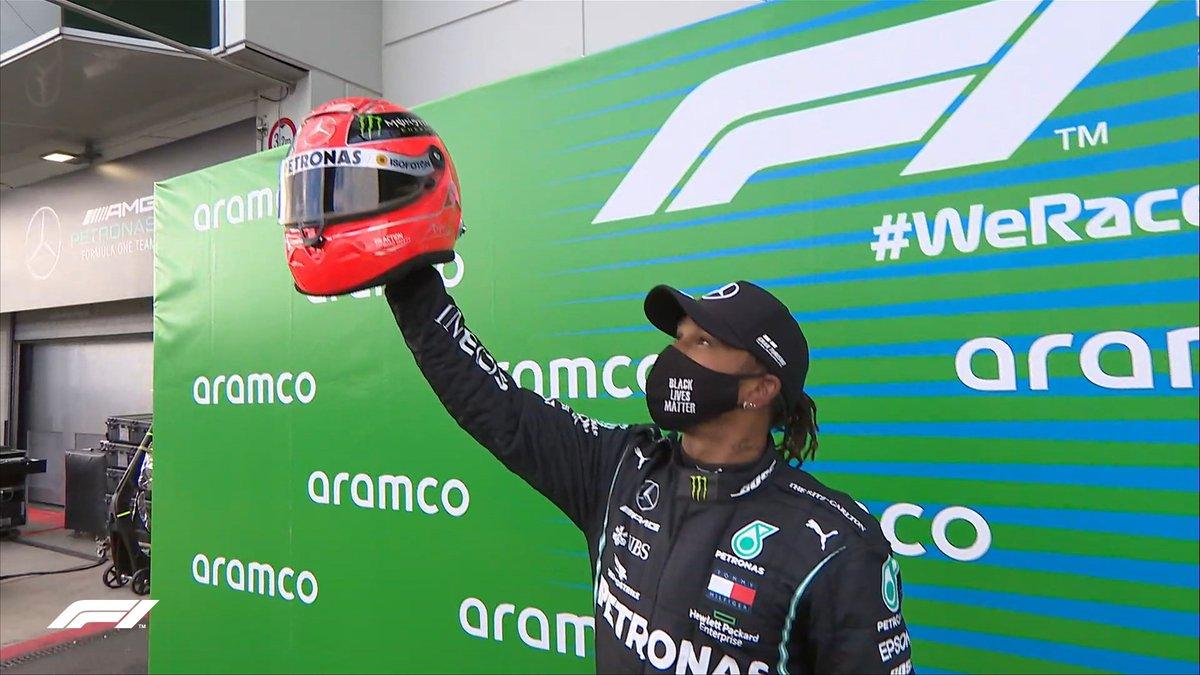 Formula 1 - Gp dell'Eifel: Hamilton vince ed eguaglia Michael Schumacher
