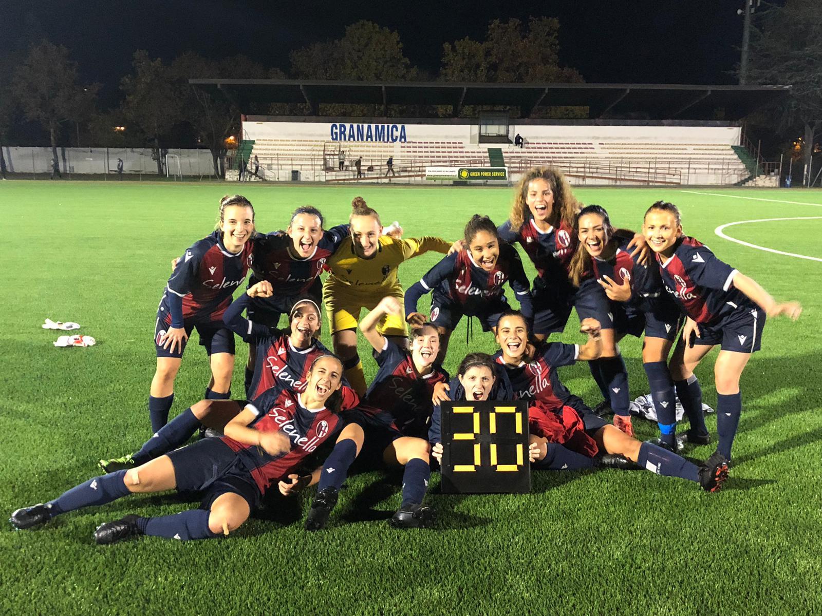 Bologna Femminile agli ottavi di Coppa Italia. Battuta la Spal 3-0