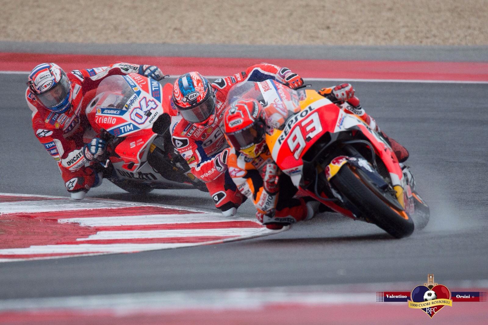 MotoGP - Misano - Marquez rovina la festa Ducati - 11 set