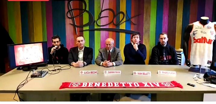 Baltur Cento: le prime parole in biancorosso di Bechi, Belletti e Kuksiks
