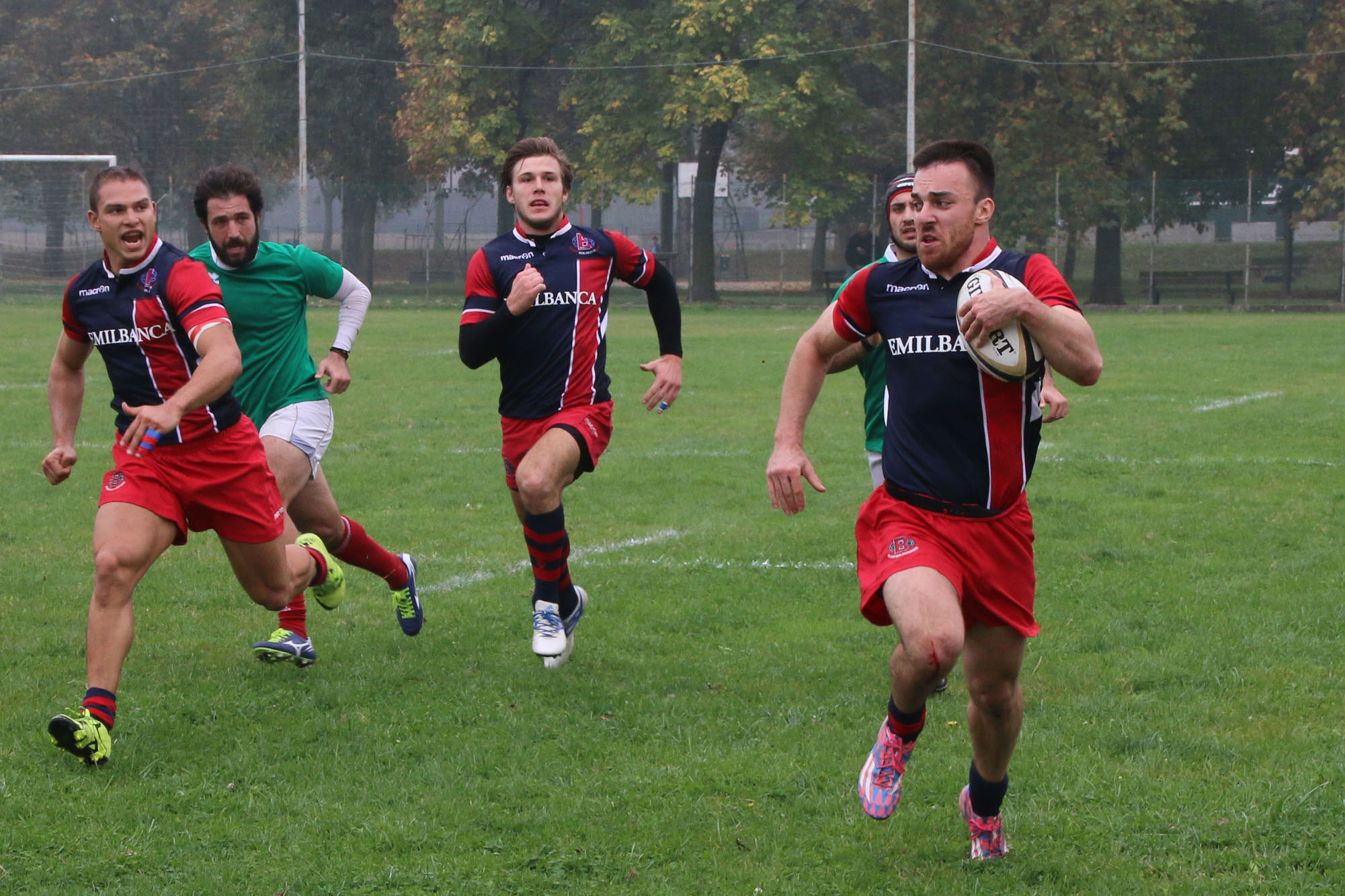 Rugby - Bologna Rugby 1928 v. Civitavecchia 43-8 - 23 Ott