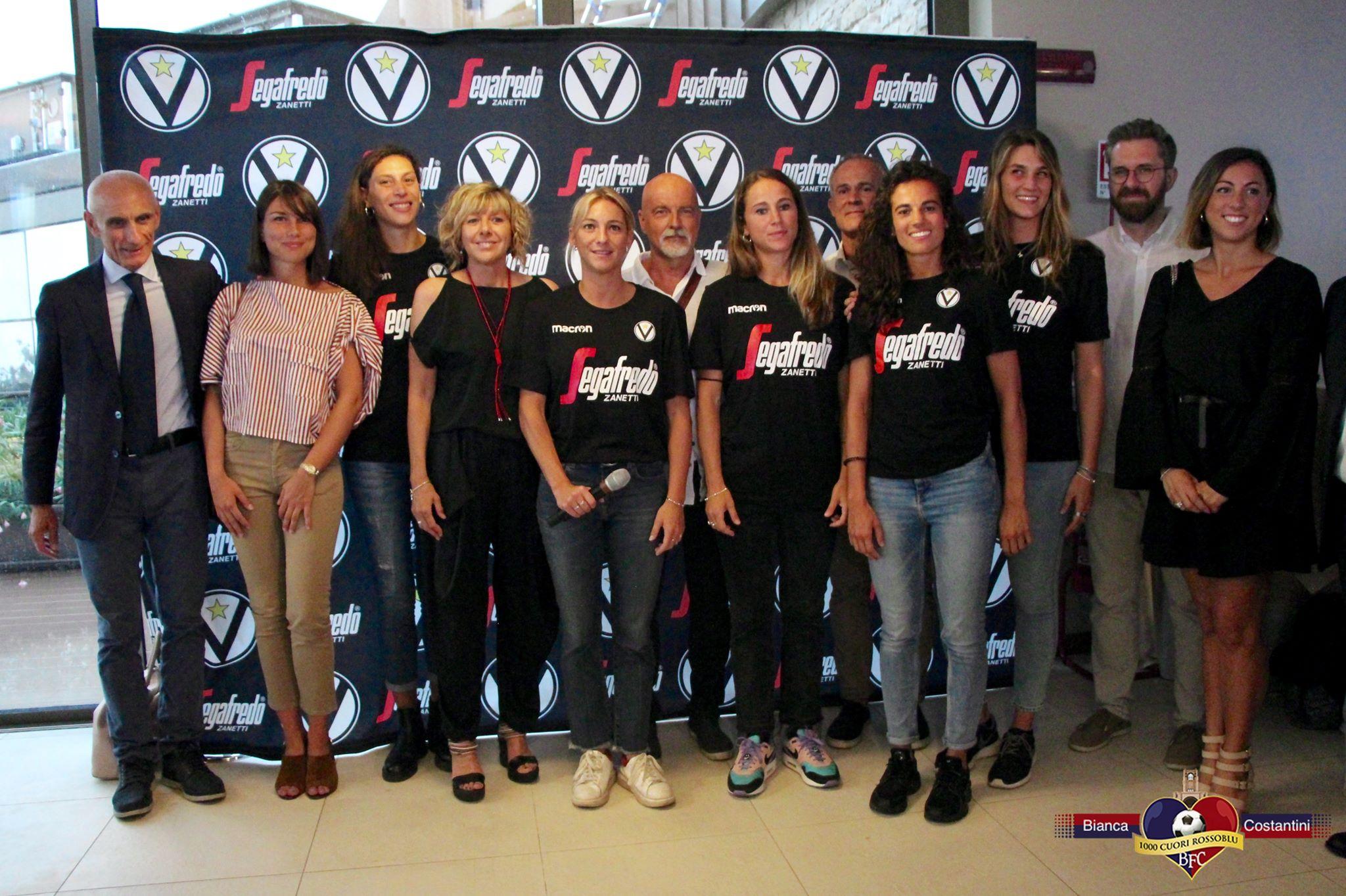 La Virtus femminile è nata ufficialmente in una serata di festa a  Palazzo di Varignana