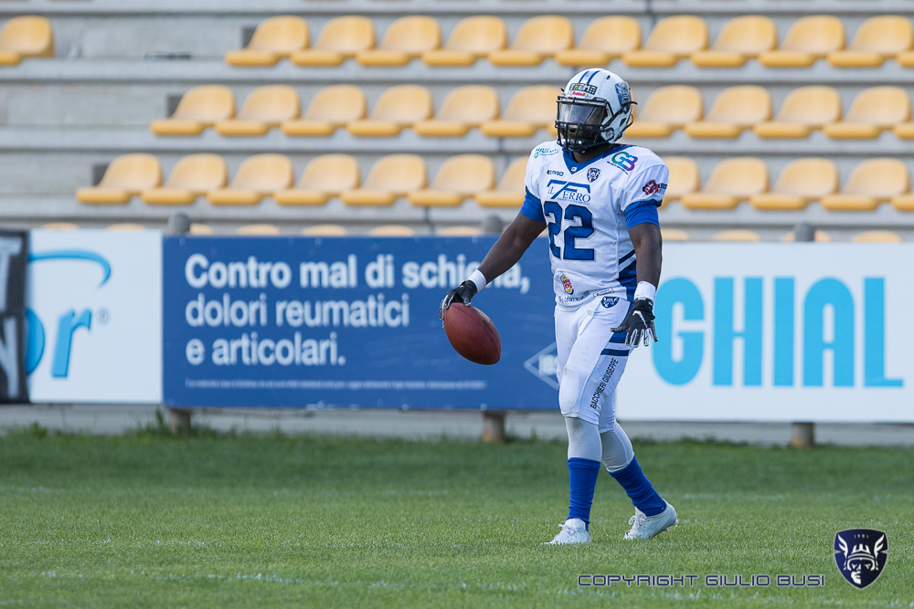 Panthers Parma 35 : Warriors Bologna 15 – 02 mag.