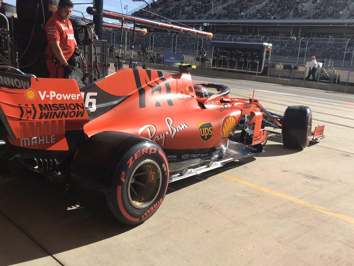 Formula 1 - Gp degli USA: la carica delle 100 prime fila in carriera per Vettel