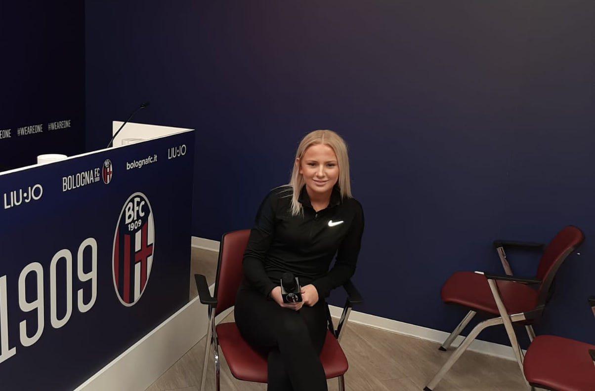 Interview with Alice Magnusson. Let's get to know better the new Bologna Femminile player
