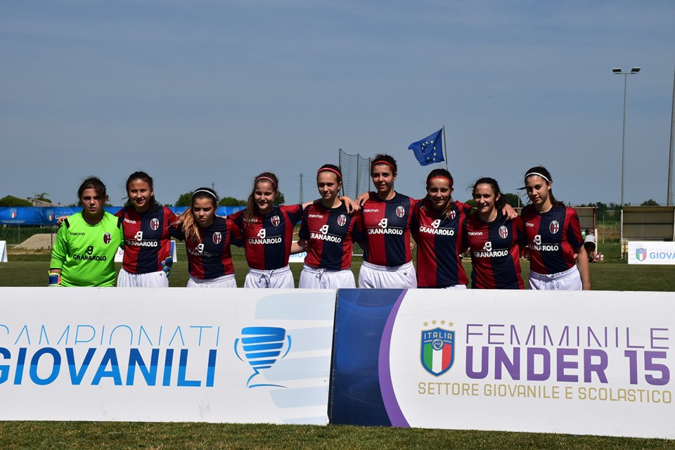 Bologna Femminile - L'Under15 si classifica quarta alle Finali Nazionali