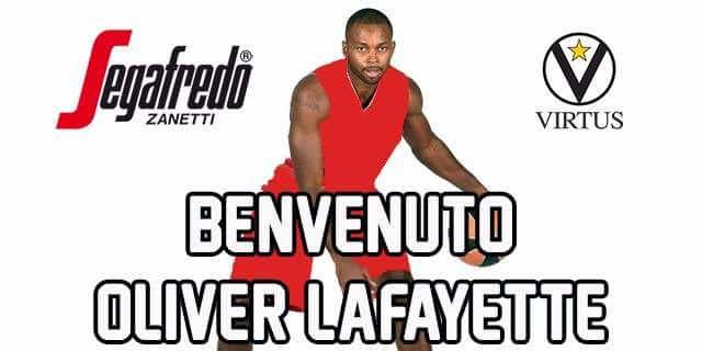 Virtus, Lafayette è il nuovo play - 31 Lug