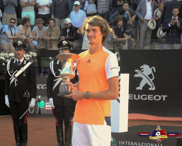 Internazionali Tennis Roma: a trionfare è Zverev - 23 mag