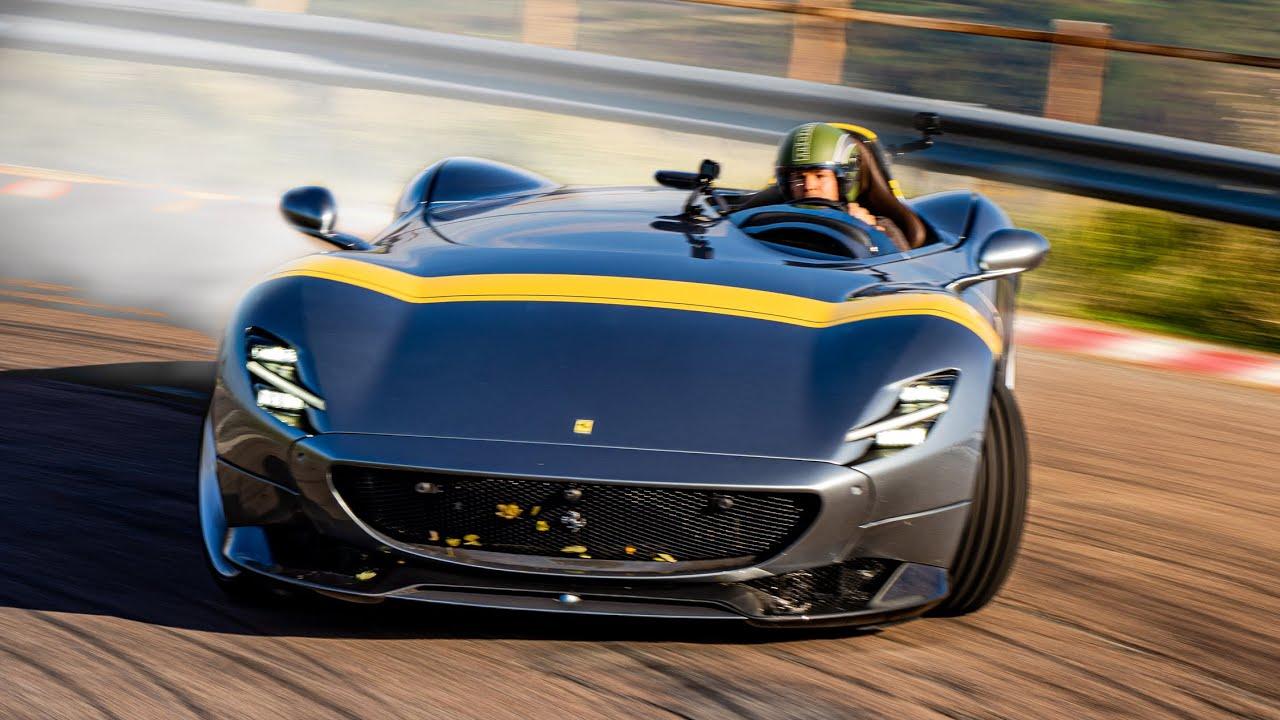 Carspillar – Ferrari Monza SP, la naked del Cavallino