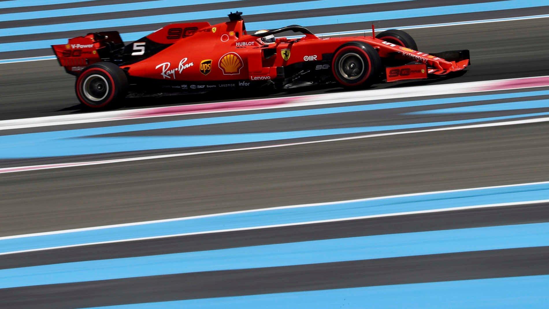 Formula1 - Gp di Francia: Hamilton imprendibile, finale da orgoglio Ferrari