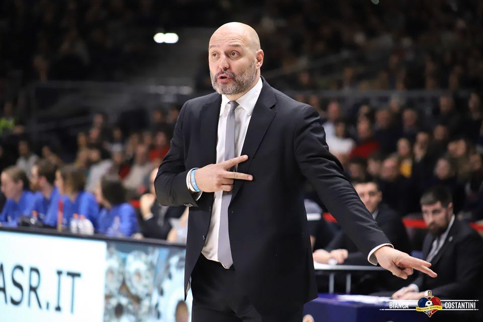 """Roma-Virtus Segafredo, le parole di coach Djordjevic nel post-partita: """"Abbiamo cominciato sottotono ma, una volta iniziato a giocare con concentrazione ed energia, abbiamo fatto una bella partita"""""""
