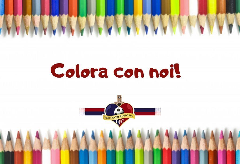 Colora con noi! Disegni da stampare far e colorare ai più piccini!