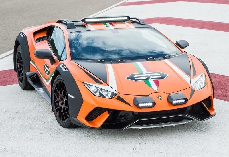 Carspillar – Lamborghini Huracán Sterrato, la supercar poliedrica