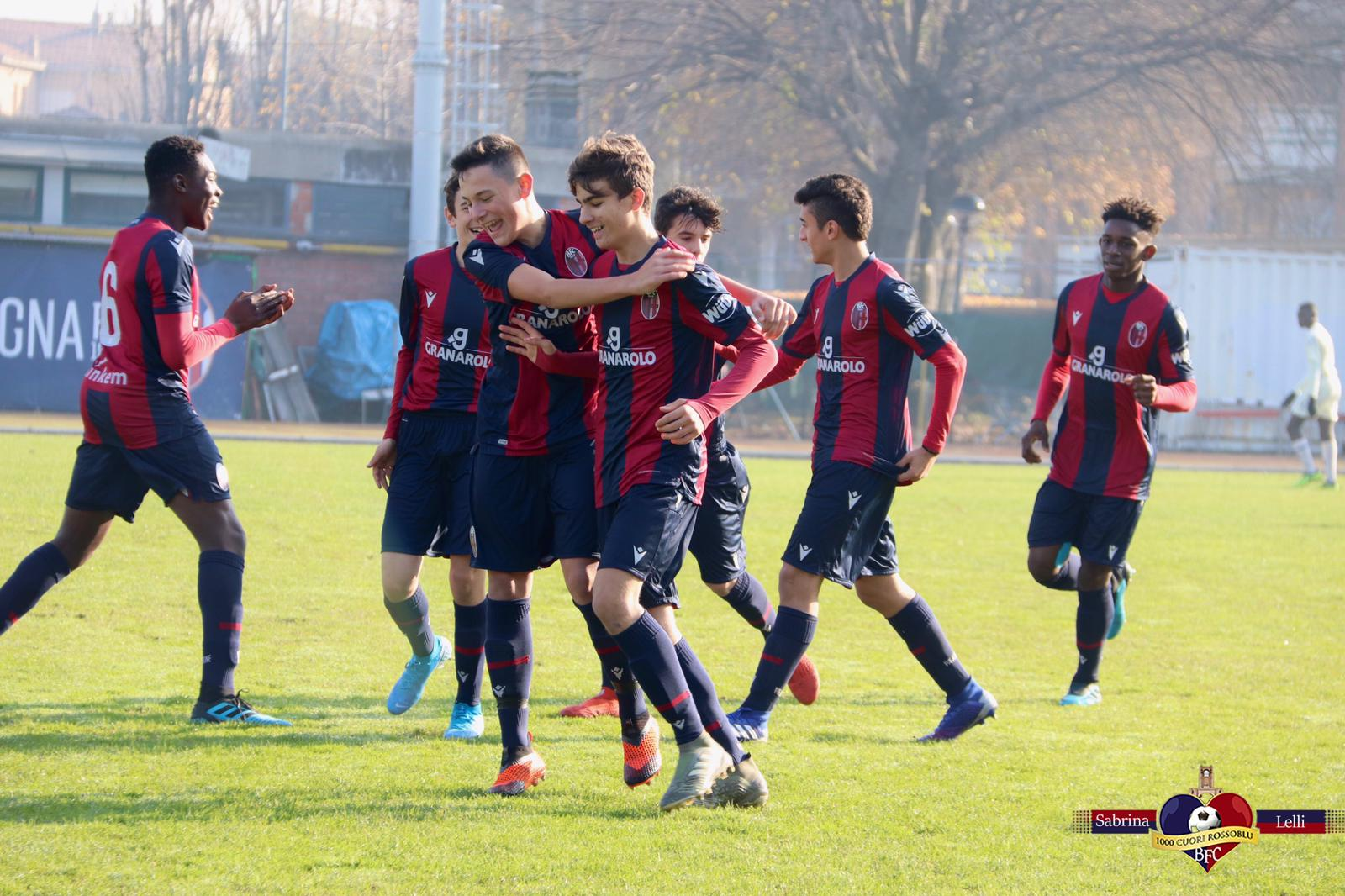 Gli indomabili: il Bologna under 15 seppellisce il Chievo sotto una valanga di goal, al Cavina finisce 7-0