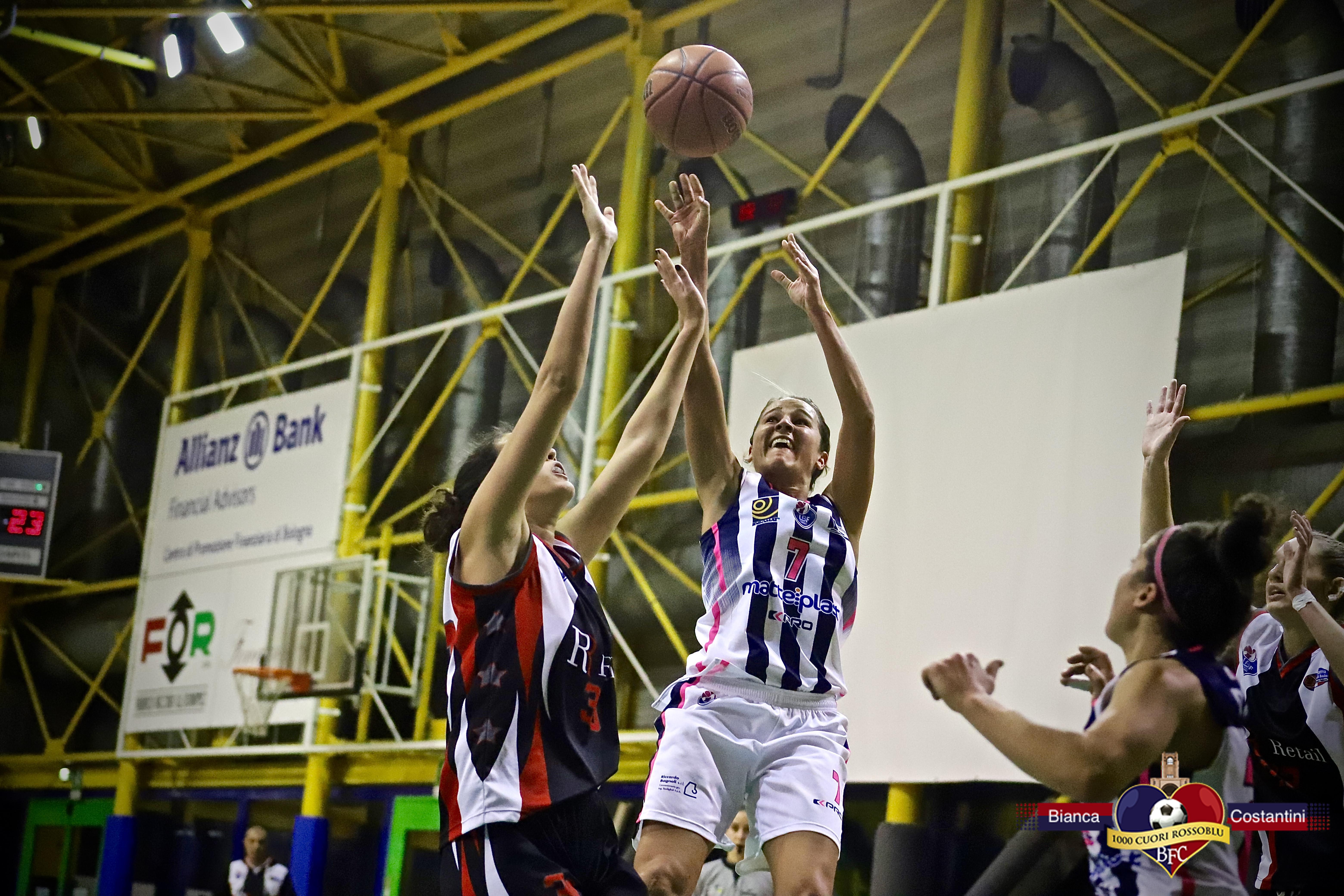 Tutto facile per la Progresso Matteiplast: schiantata l'Elite Basket Roma 44-77