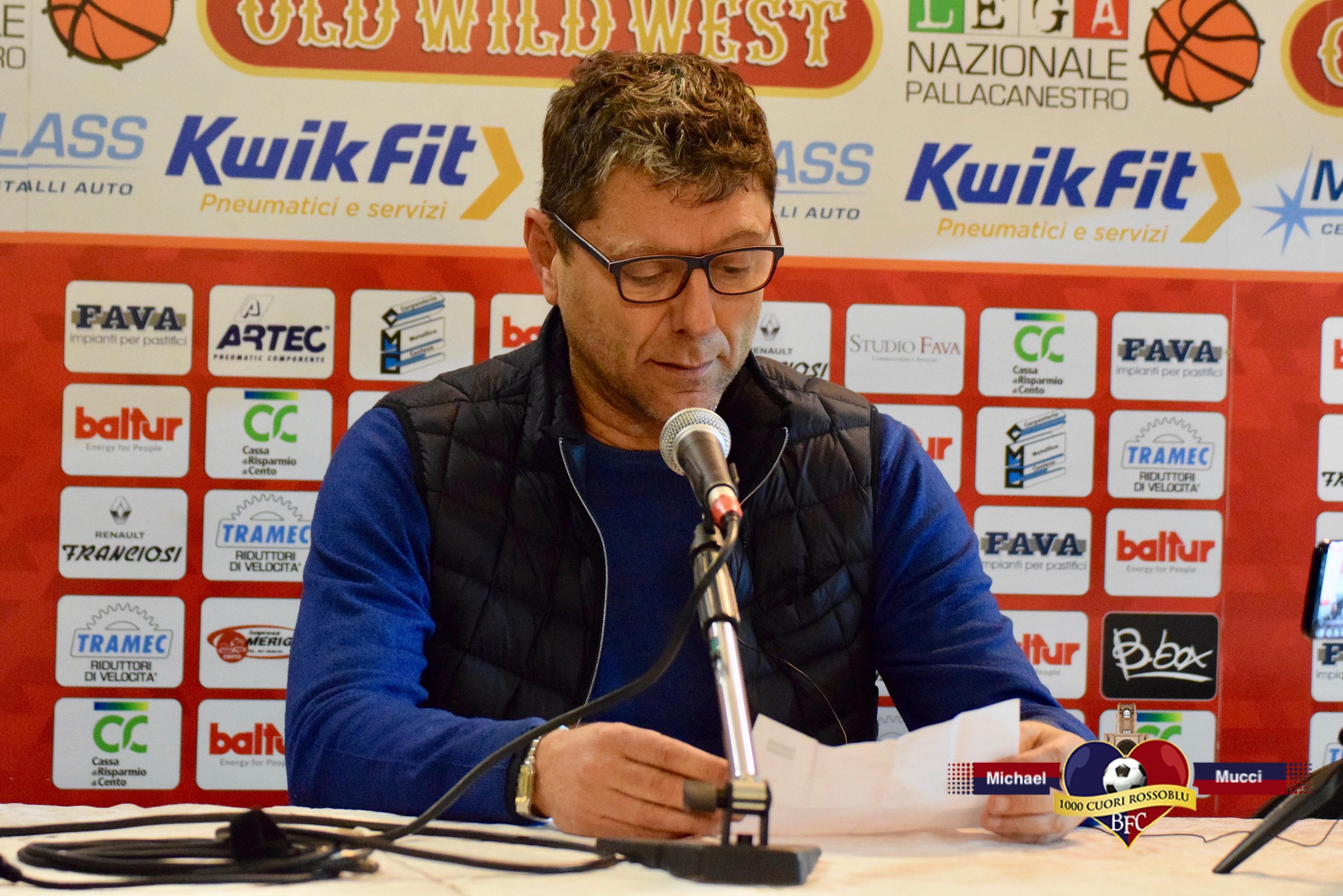 Le parole di coach Giovanni Benedetto e Alberto Chiumenti alla vigilia di Fortitudo-Cento