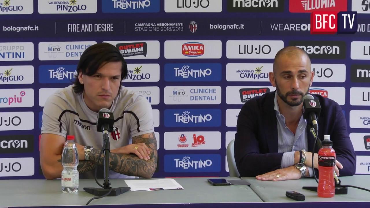 Bologna – Torino: le parole di Calabresi e Santander in Mixed Zone
