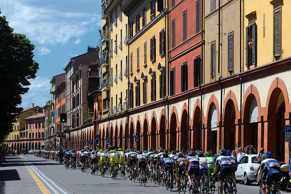 Il Messaggero - Partenza da Bologna per il Giro d'Italia 2019?