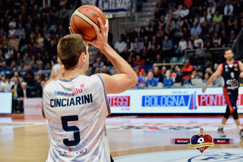 Parte forte, poi si limita a gestire: la Fortitudo vince a Mantova per 60-69