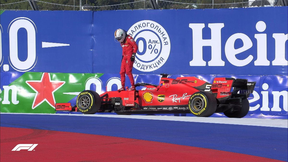 Formula 1 - Gp Russia : La fortuna volta le spalle alla Rossa