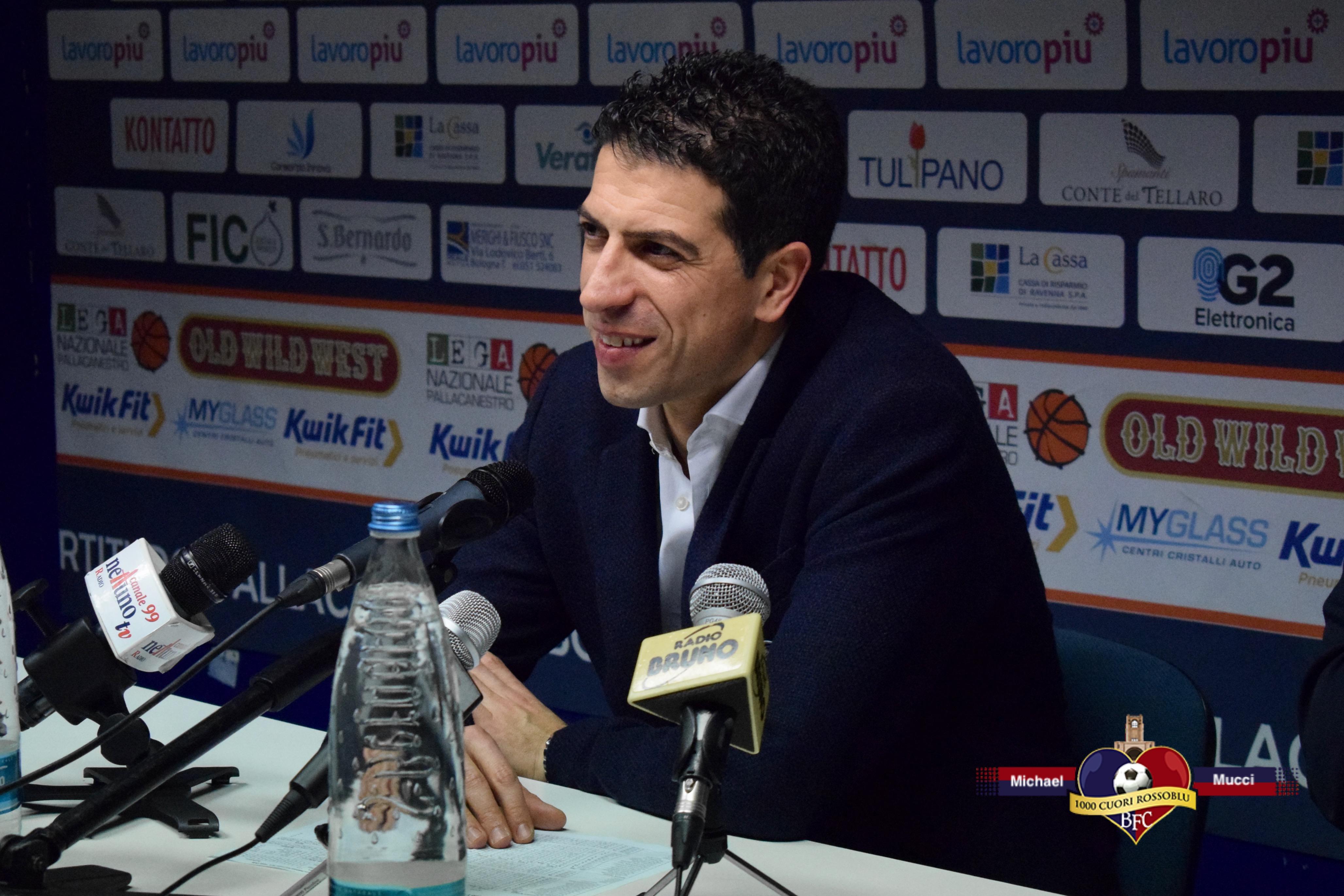 """Fortitudo-Pesaro, Antimo Martino: """"Ripartiamo con entusiasmo, ci teniamo a fare bene per dimostrare le nostre ambizioni"""""""