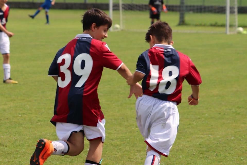 La Scuola Calcio del Bologna si allena da casa