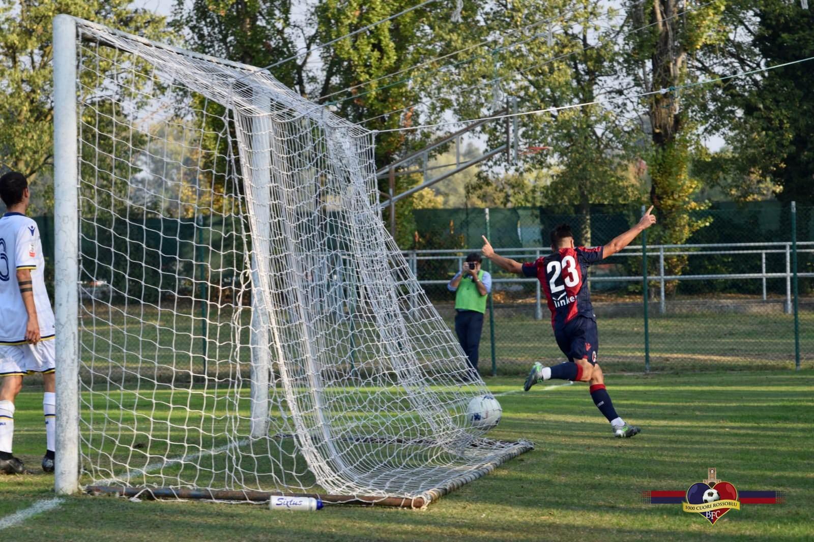 Primavera, Bologna-Hellas Verona 2-1: Cossalter ribalta il match, terza vittoria di fila per i rossoblù