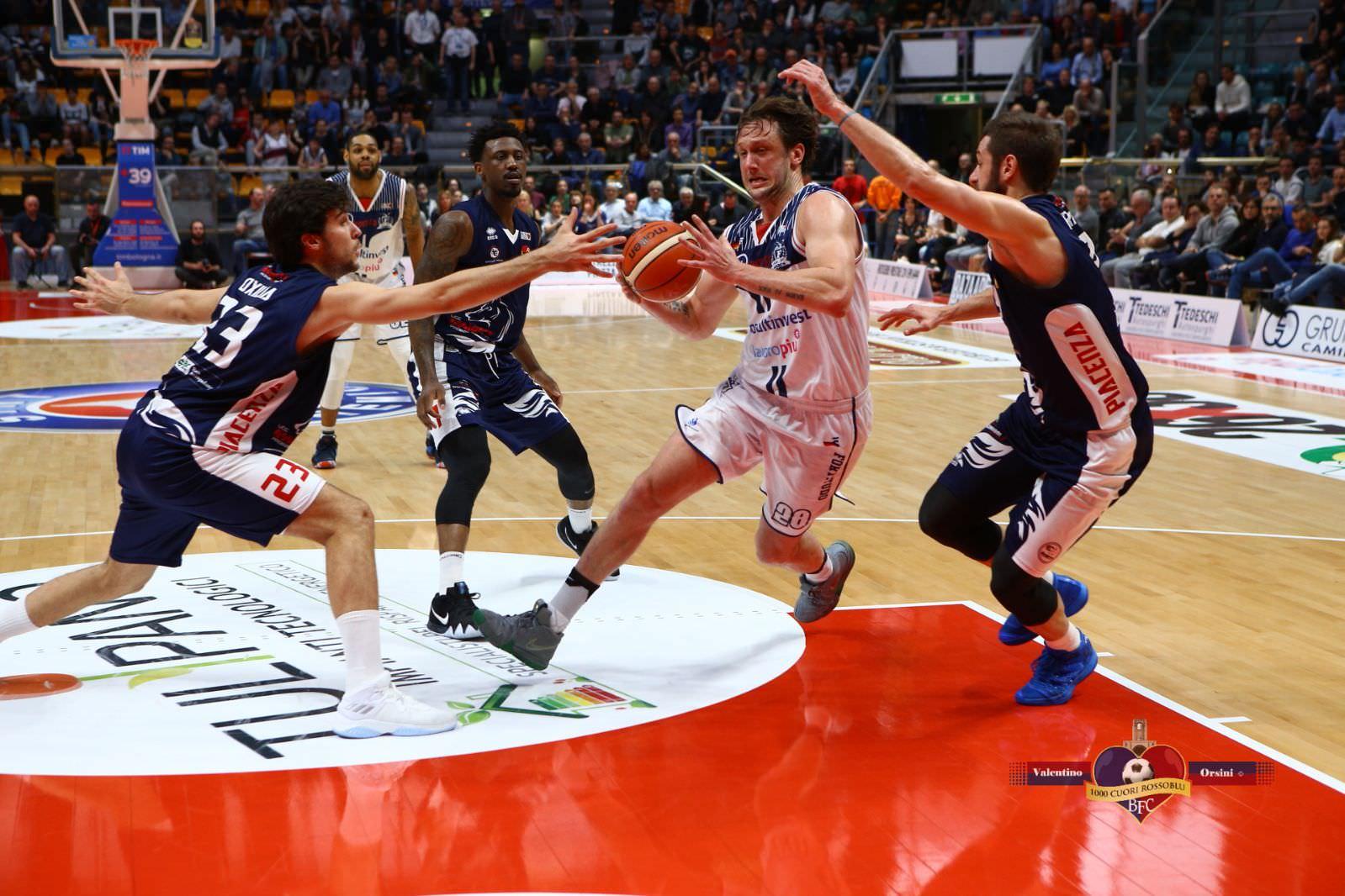 La Fortitudo centra la terza vittoria consecutiva contro Piacenza - 15 Apr