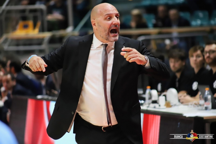 All. Djordjevic - Virtus Bologna