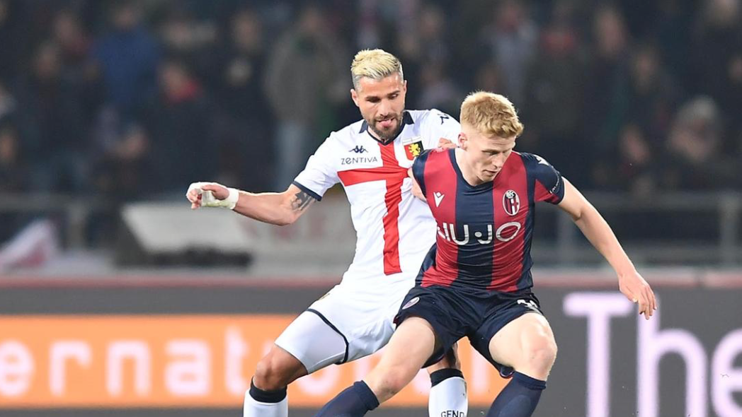 Il Bologna si blocca: 0 a 3 Genoa