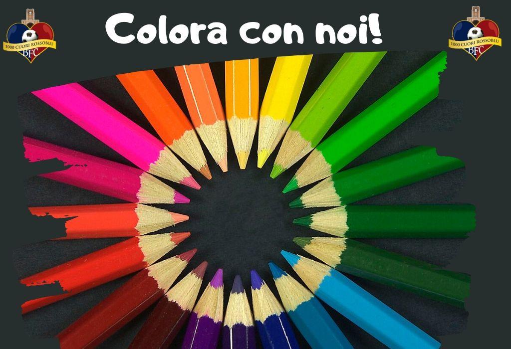 Colora con noi! Sei disegni da scaricare e colorare, a tema calcistico!