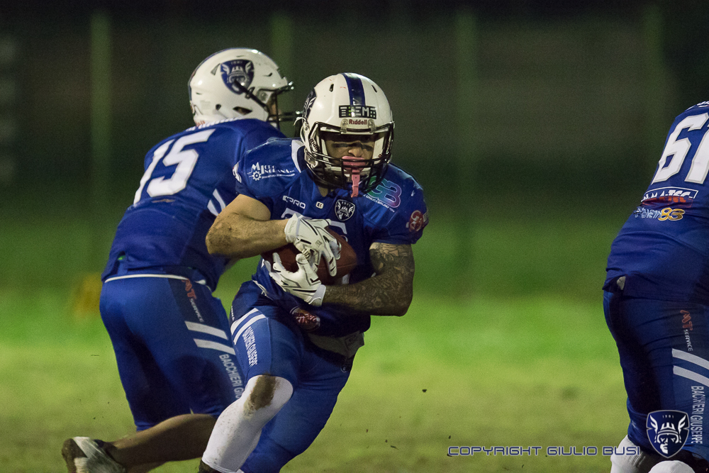 Warriors Bologna 15 : Dolphins Ancona 18 – 17 apr.