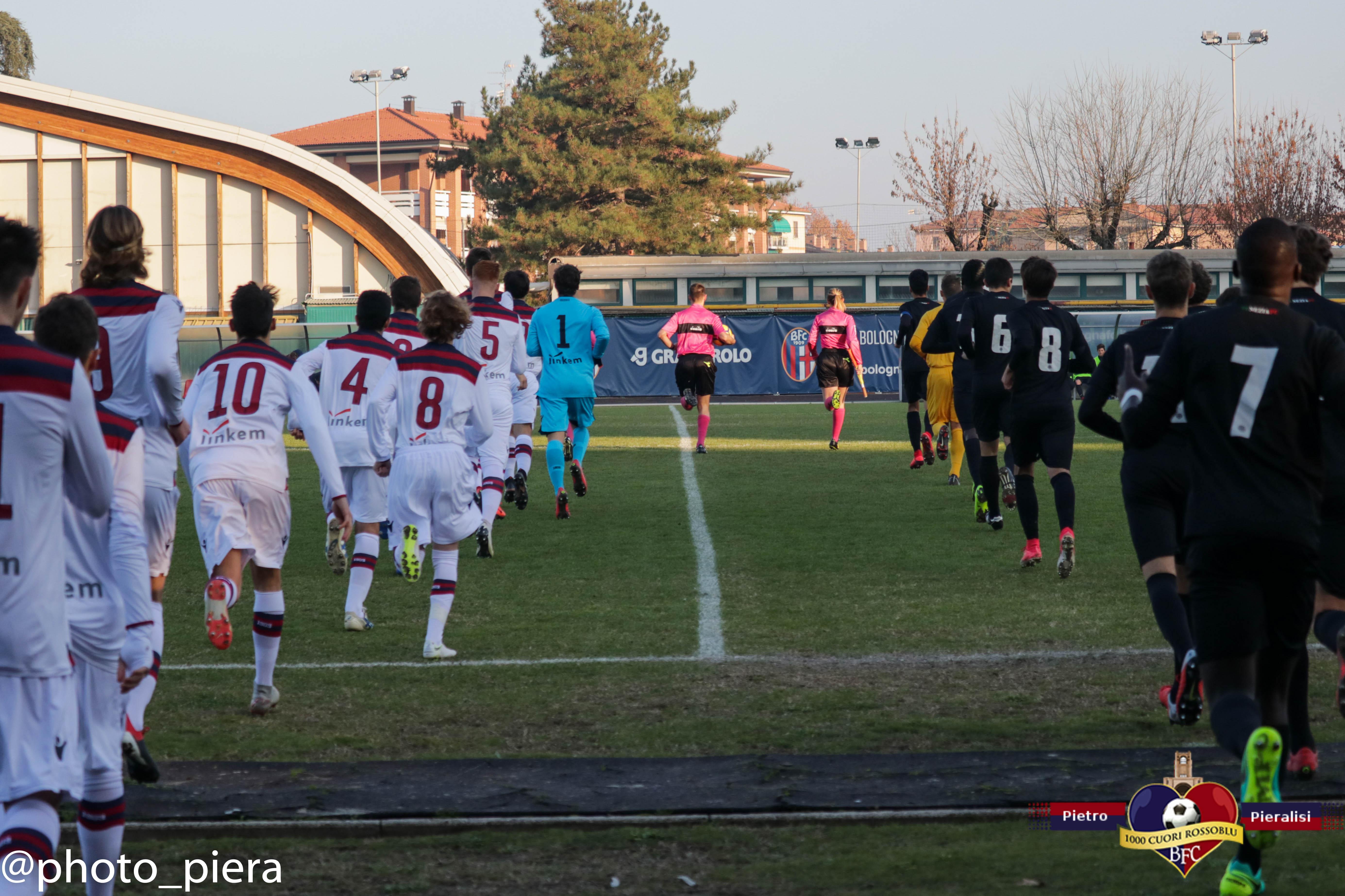 Under 17, Bologna-Venezia: le foto della gara