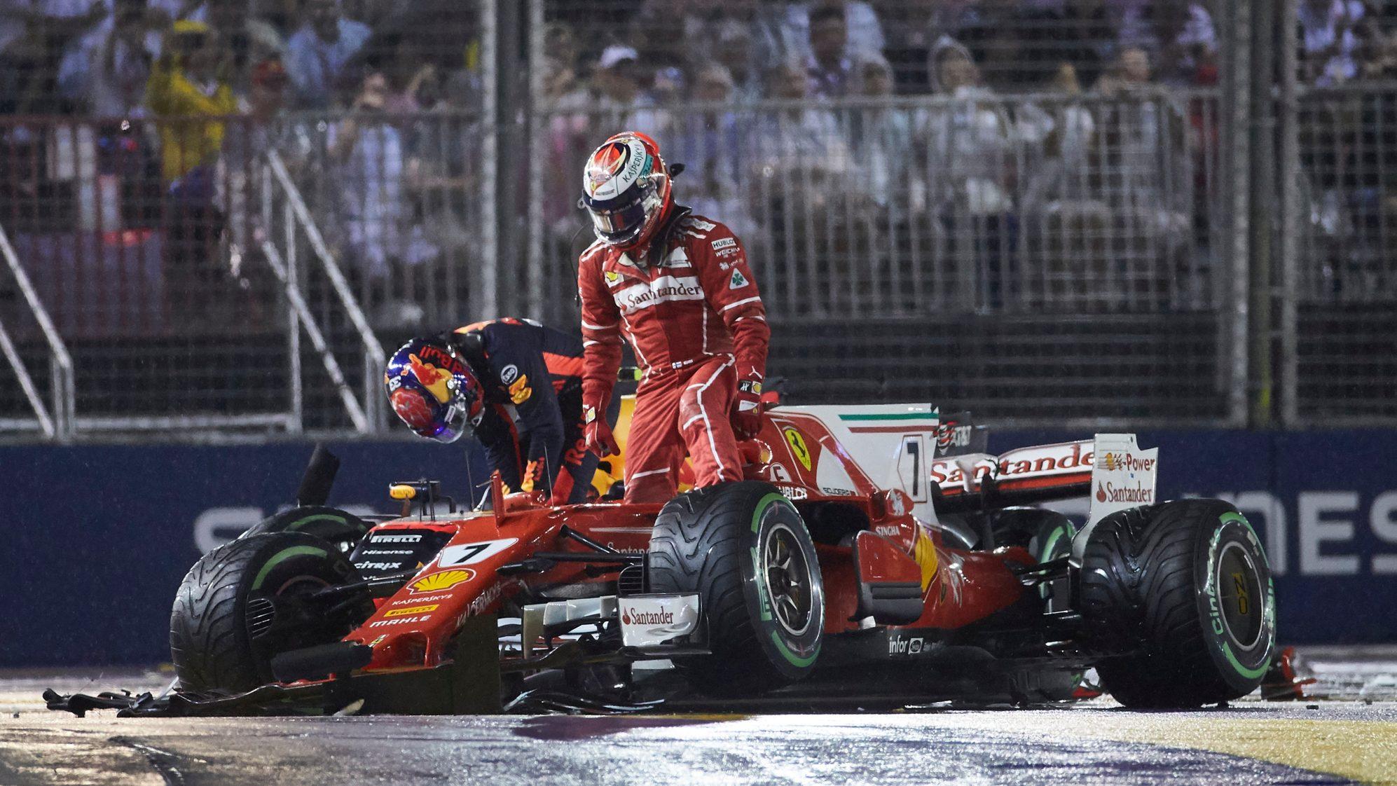 F1 - Gp Singapore 2017: Uno dei più grandi fratricidi Ferrari