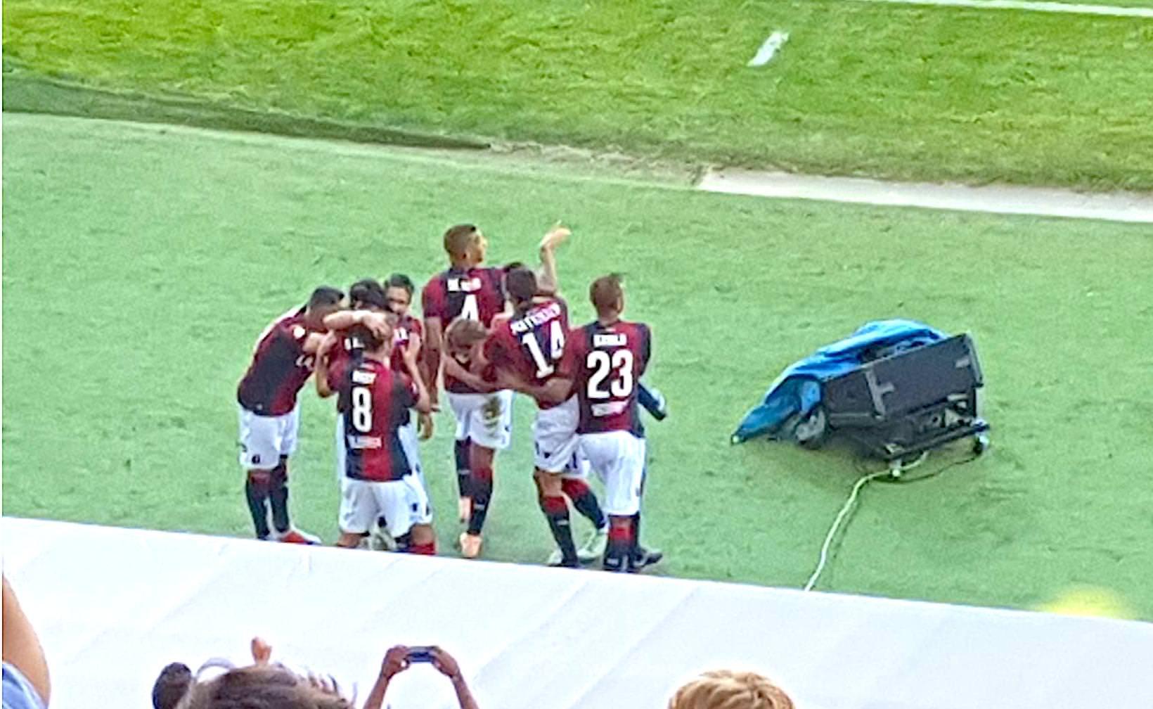 Il Bologna si illumina: 2 a 0 alla Roma