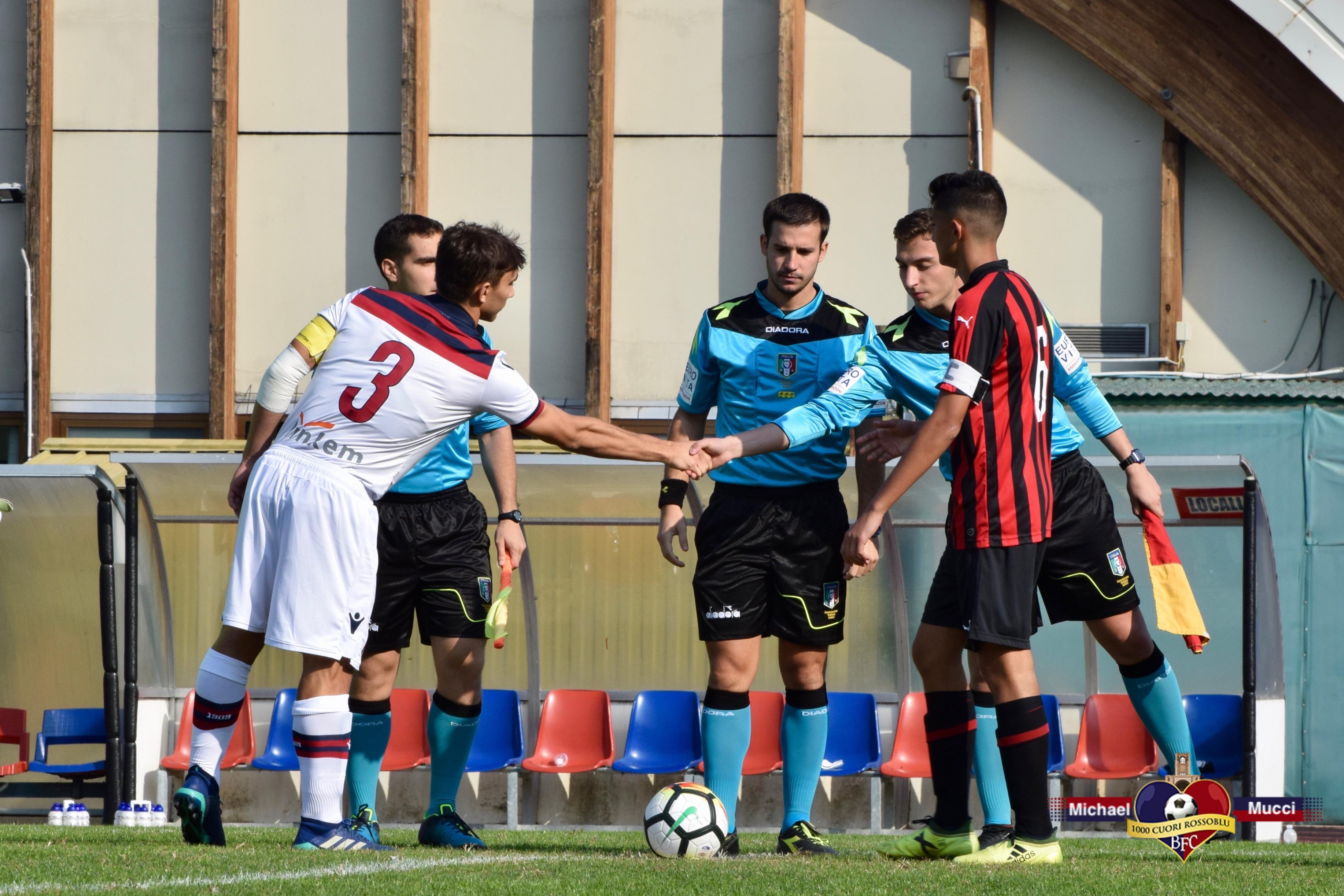 Under 17, Bologna-Milan: le foto della gara