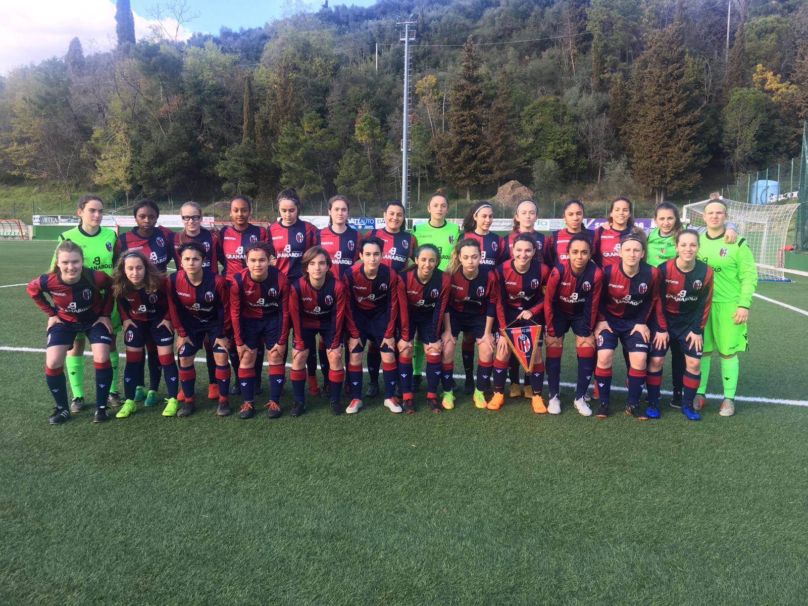 Esordio amaro al Viareggio per il Bologna Femminile: vince la Juventus 2-0