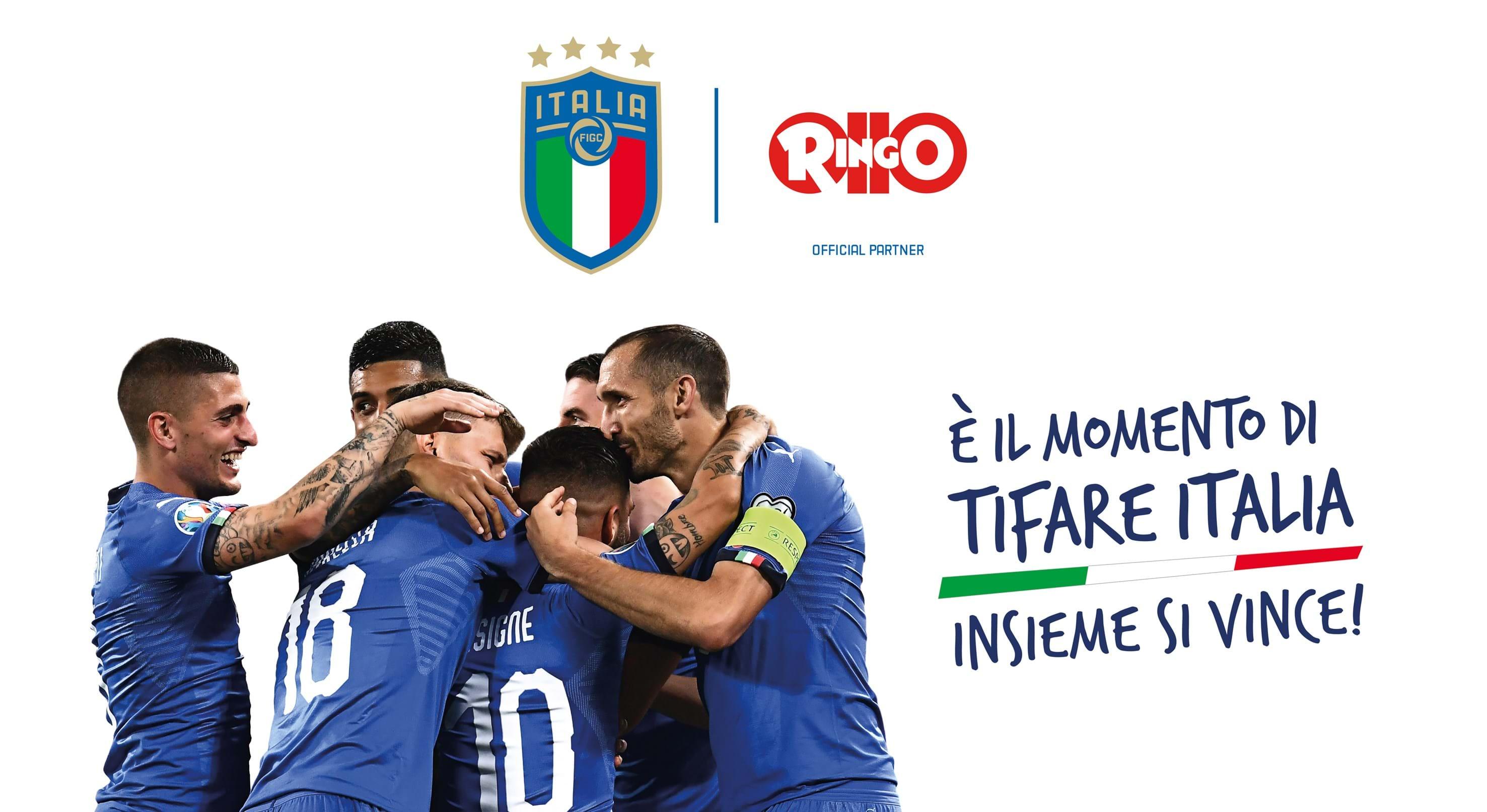 """Il Resto del Carlino - Ringo """"Official Partner"""" degli Azzurri"""